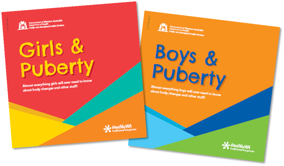 Girls And Boys In Puberty - Free - Booklets And Brochures -8919
